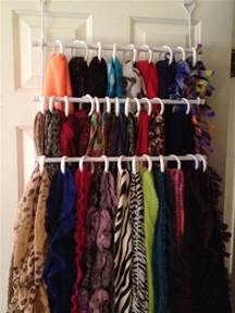 Bed Bath And Beyond Shower Rod 10 Scarf Organization Ideas 15 Ways To Wear Them