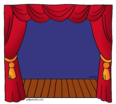 clipart teatro theater stage clipart clipart suggest