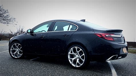 buick gs regal 2016 buick regal gs looks shifting lanes