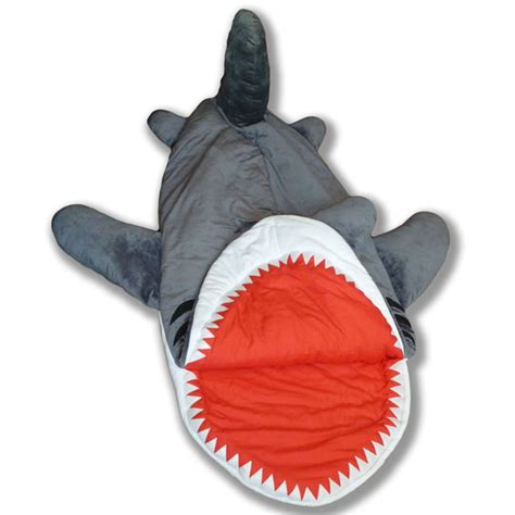 shark pillow sleeping bag chumbuddy shark sleeping bag