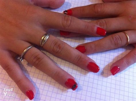 Idée Ongle En Gel by Annonces Pose Nidagravel Pointvente Fr