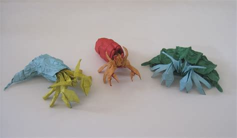 Origami Hermit Crab - 26 great origami models for when you re feeling a bit crabby