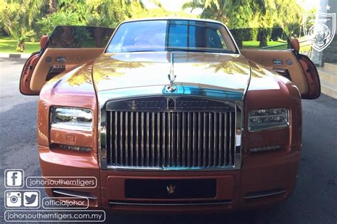 roll royce johor southern tigers limited edition rolls royce official