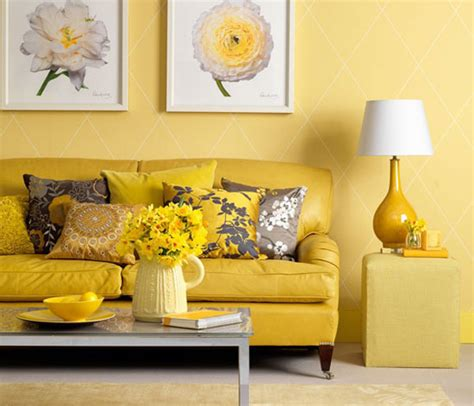 Living Room Yellow Color Scheme Room Color And How It Affects Your Mood Freshome