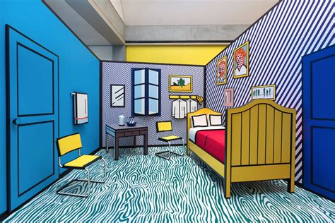 roy lichtenstein bedroom van gogh bedroom in arles at real estate photo vincent