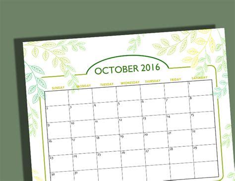 design printable calendar 2016 free calendars for october 2016 halloween designs
