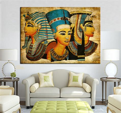 large wall large wall canvas pharaoh of home decoration