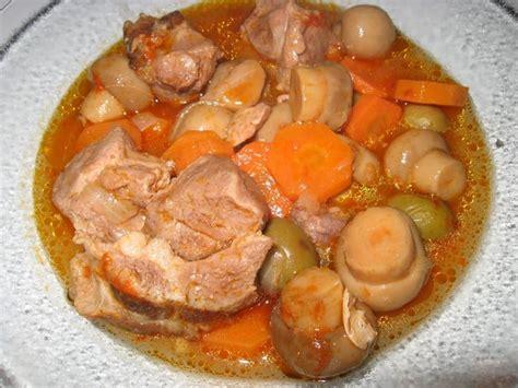 recette de saut 233 de porc en rago 251 t la recette facile