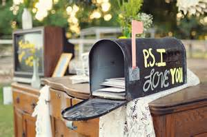 wedding card mailbox diy wedding incorporating a mailbox and vintage tv