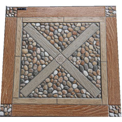 veranda flooring 400x400mm imitation veranda floor tile outdoor