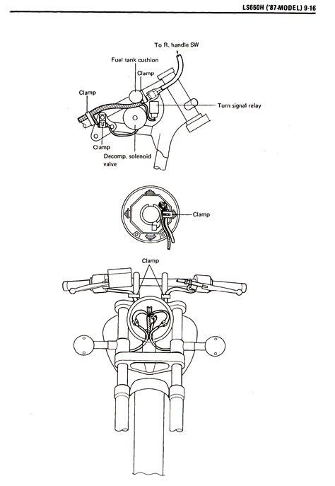 Suzuki Savage 650 Carburetor Diagram Suzuki Savage 650 Wireing Diagram Suzuki Bobber Edmiracle Co