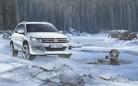 volkswagen winter volkswagen winter caign nominee
