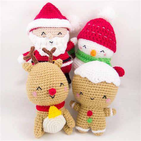 Amigurumi Pattern Christmas | christmas set patterns snacksies handicraft corner