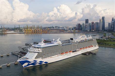 princess cruises singapore majestic princess brings singapore cruise season to grand