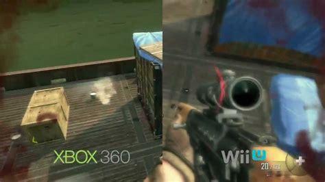 wii vs xbox 1 graphics black ops ii graphics xbox 360 vs wii u comparison