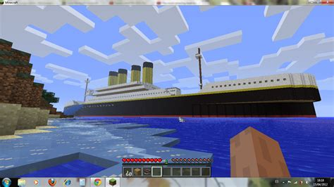 Titanic 2012 Curse Of Rms Titanic curse of minecraft abril 2012