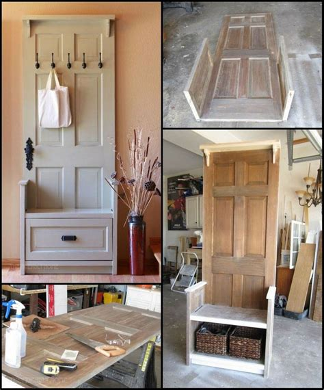 how to make entryway bench 17 best ideas about old door bench on pinterest door bench old wood doors and door