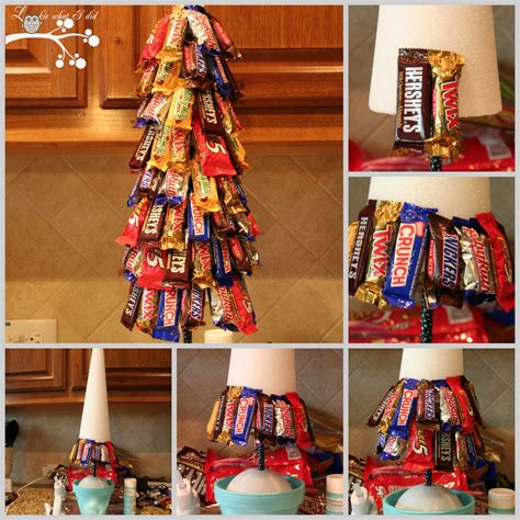 diy candy bar christmas tree pictures photos and images