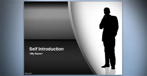 Exles Of Self Introduction Speeches Powerpoint Presentation Self Presentation Template