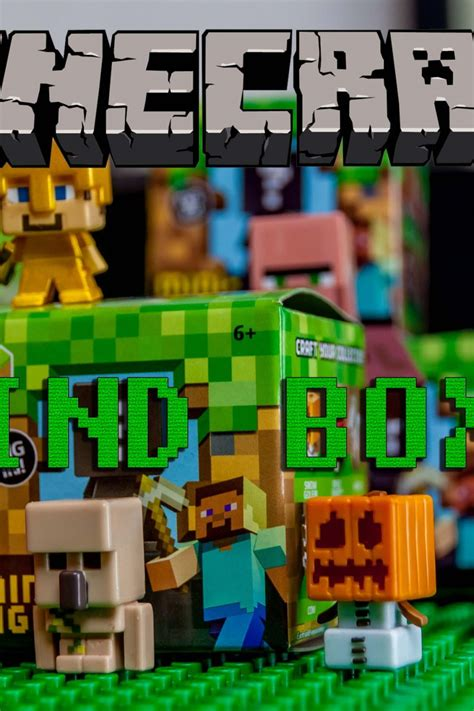 Blind Minecraft Minecraft Blind Boxes Transparent Aluminium Net