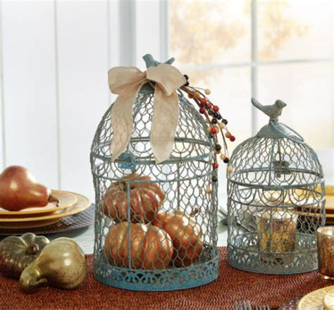 3 quick fall decorating tips total mortgage blog easy diy fall decor pumpkin filled birdcage craft store