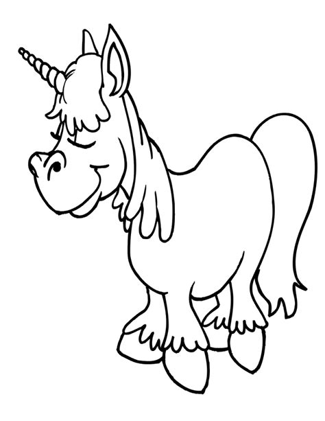 coloring pages of cute baby unicorns free coloring pages of little cute baby unicorn