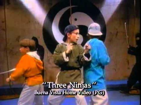 film ninja francais 3 ninja kids 1992 trailer youtube