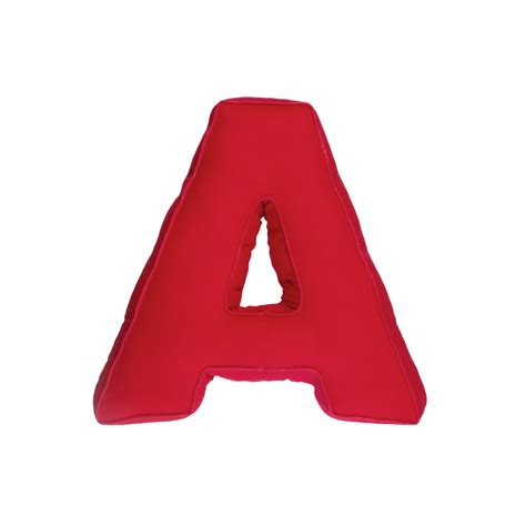 fabric letter a