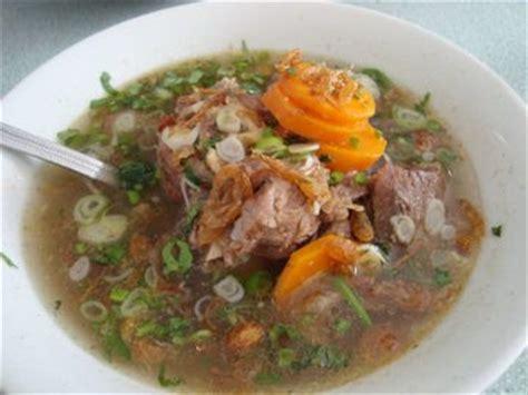resep soup iga sapi aneka resep masakan