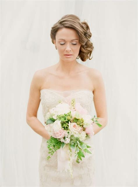 Side Wedding Hair With Veil by Side Swept Side Wedding Hair With Veil