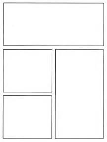 blank comic template comic template
