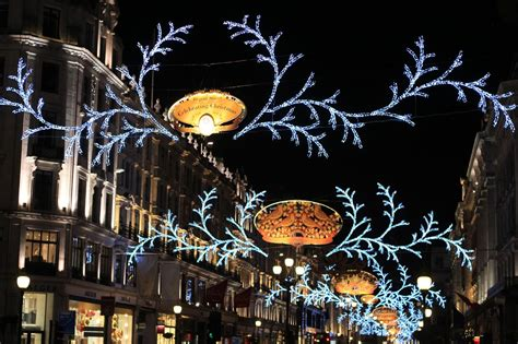 masha s page christmas lights on the regent street