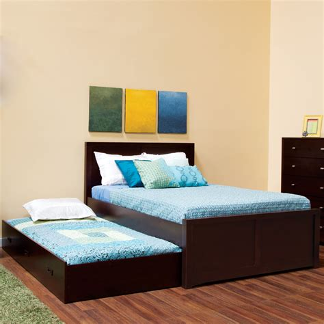 Pop Up Trundle Bed Frame Nice Accent For Playful Bedroom Up Bed