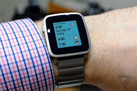 pebble time retail edition pebble time steel is a dressed up version of pebble s
