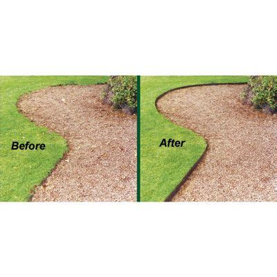bed edging everedge steel lawn edging 4 in neat clean borders for lawn paths and flower beds
