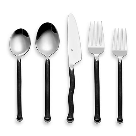 bed bath and beyond flatware gourmet settings montana 20 piece flatware set bed bath