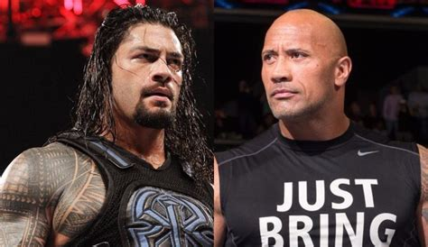rock and roman reigns roman reigns vs the rock real reason why this dream