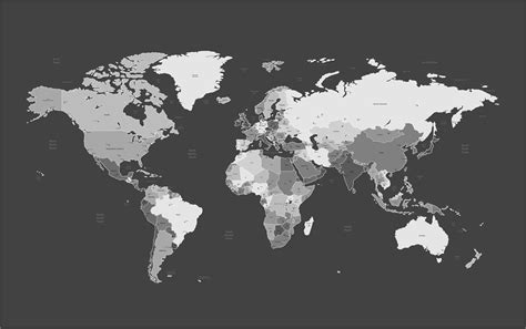 cool world map image map of the world cool wallpapers