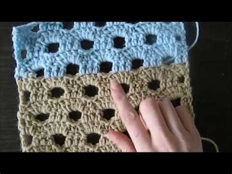 youtube link pattern lovely crochet thick fan stitch pattern for a scarf or