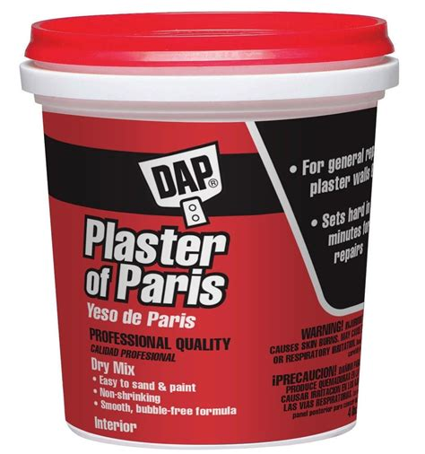 plaster of paris buy the dap 53005 plaster of paris 4 lbs hardware world