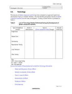 investigator brochure template blank investigator s brochure template free