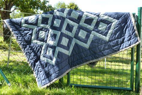decke quilten mit nähmaschine patchworkdecke traumzwirn