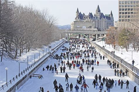 Canal Rideau Patinage by Rideau Canal Skateway National Capital Commission
