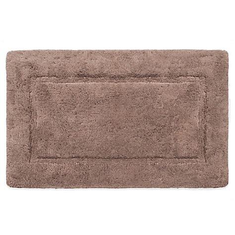 wamsutta bath rug buy wamsutta 174 soft micro cotton 174 24 inch x 40 inch bath rug in taupe from bed bath beyond