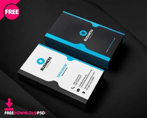 30 best free business card templates 2017 edition ginva
