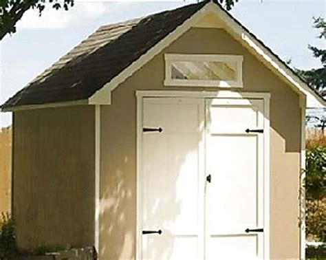 Everton 8 X 12 Wood Storage Shed by Yardline Everton Gable Wood Outdoor Shed 33411 8 Ft X 12