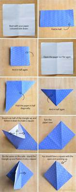 How To Make A Box By Folding Paper - origami boxes with printable origami paper picklebums