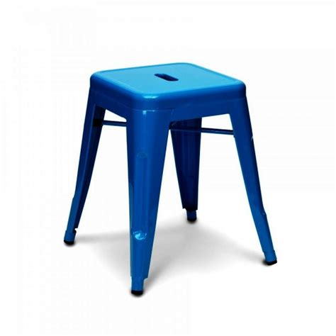 Xavier Pauchard Stool by Blue 45cm Style Industrial Stool Kitchen Stools Cult Uk