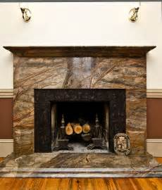 fireplace with marble surround before after rainforest green granite fireplace surround