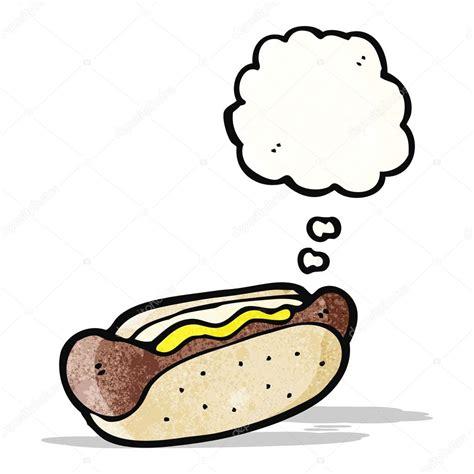 imagenes hot dibujos animados dibujos animados de hot dog vector de stock
